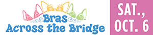 Baptist Health Care Foundation Bras Accross the Bridge graphic