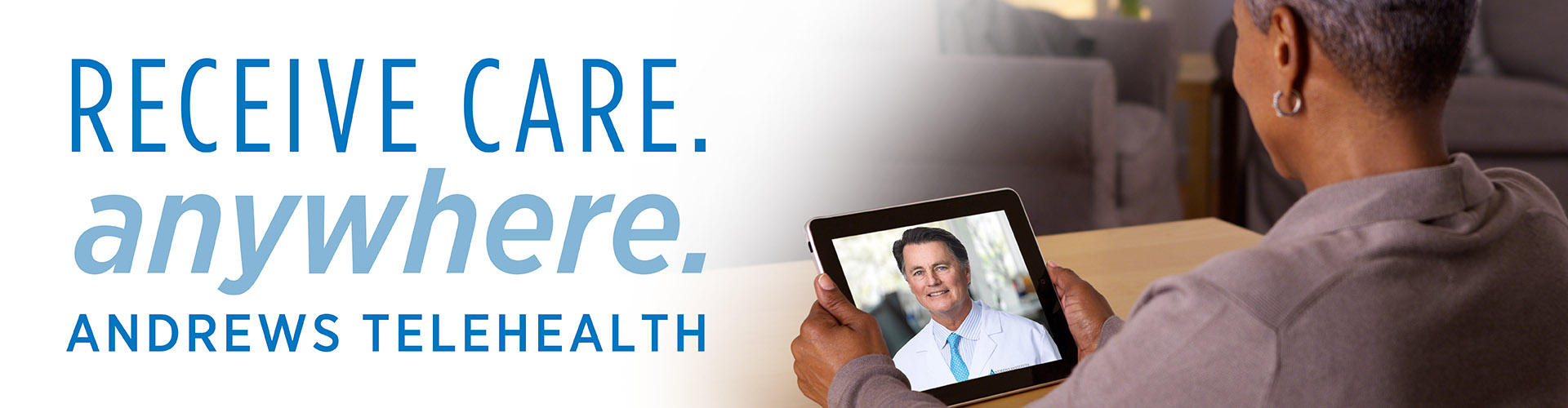 Andrews Institute Telehealth care anywhere