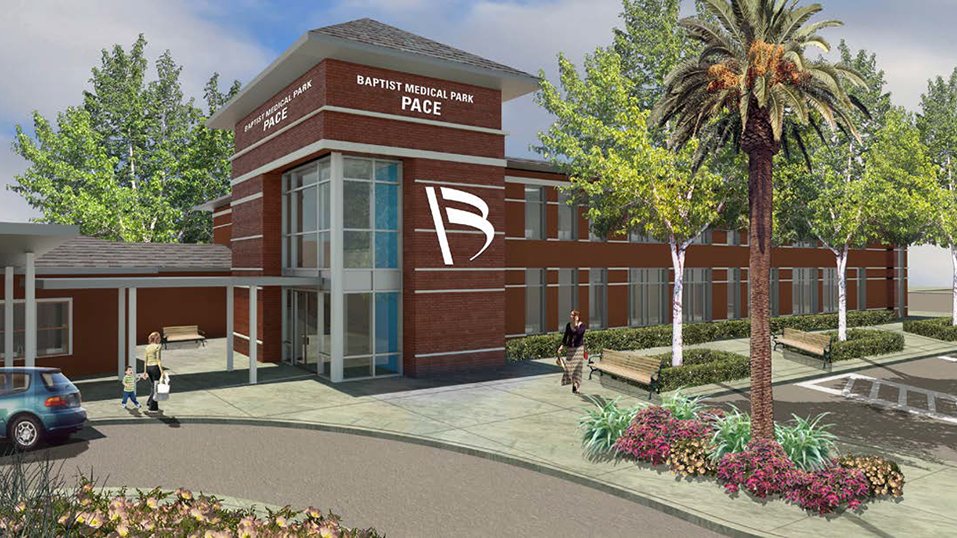 Baptist Medical Park - Pace front entrance