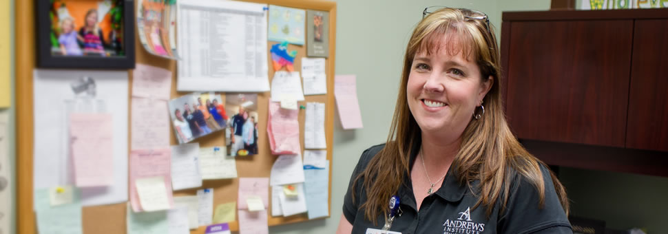Amy D., P.T., Baptist Medical Park - Nine Mile/Andrews Institute Rehabilitation