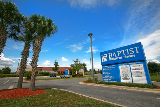 Baptist Medical Park Navarre front entrance