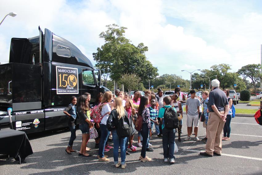 Mayo Clinic Mobile Exhibit   Baptist Health Care