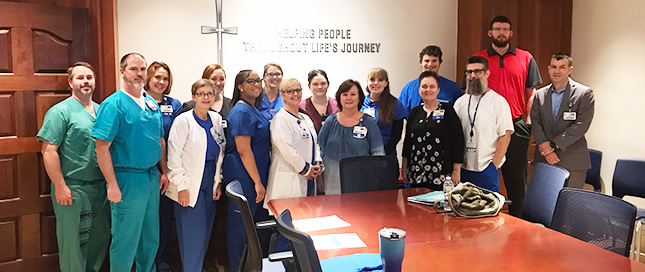Baptist Health Care nurses on the Professional Development Council